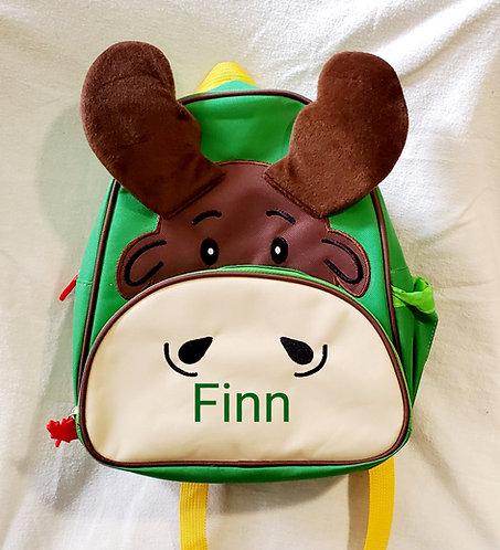 Personalized Backpack-Moose
