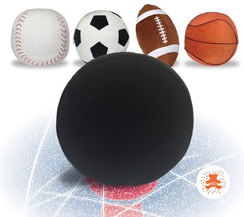 Personalized plush sport balls