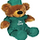 "Thumbnail: 12"" Personalized Dr. Bear"