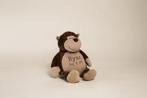 "16"" Personalized monkey"