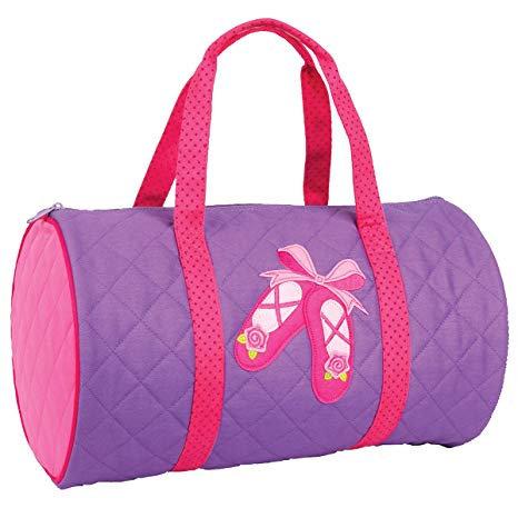 Personalized dancer duffel bag