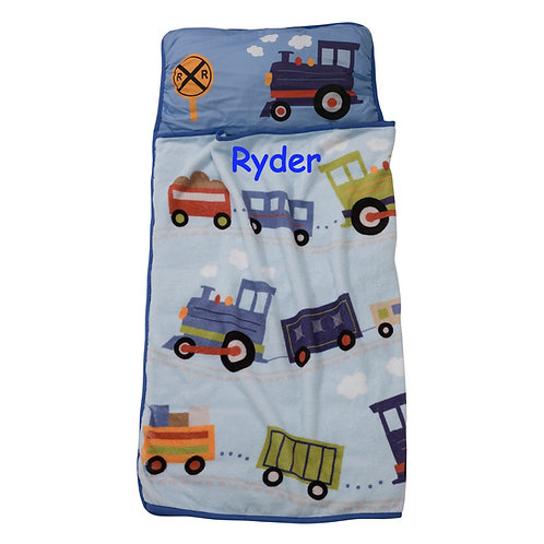 Personalized sleeping bag