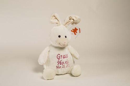 16 Personalized Bunny