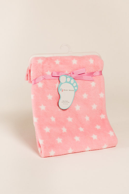 You're my star pink baby blanket