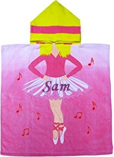 Personalized poncho towels