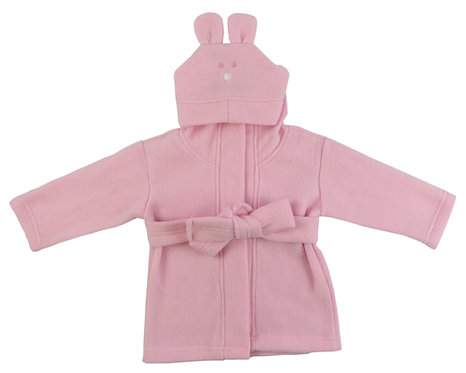 Personalized baby bathrobe