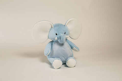 "16"" Personalized Blue Elephant"