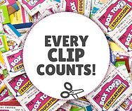 Box Tops 4 Education... Every clip counts!