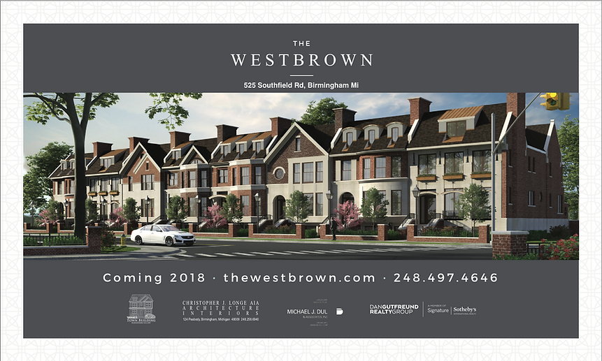 The Westbrown, Town Building Company, Chris Brocavich, Birmingham Townhomes