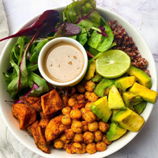 The best Buddha bowl I've had in a while! This one is flavourful and absolutely delightful 🤩😋