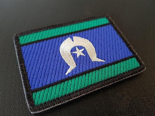 Torres Strait Islander Flag- Fully Embroidered