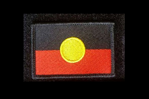 Aboriginal Flag- Fully Embroidered