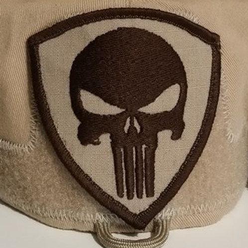 Shield Skull patch