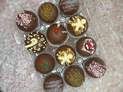 4 Pack of  Hot Cocoa Bombs