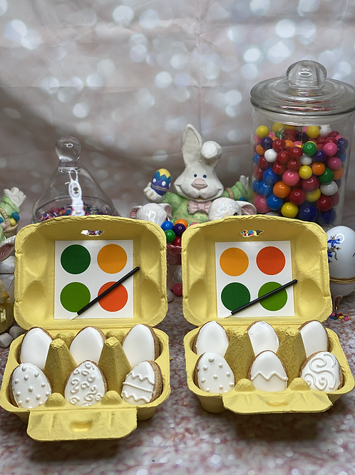 """""""Paint Your Own Eggs"""" Cookie Set"""