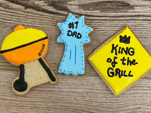 Father's Day 3 Cookie Set