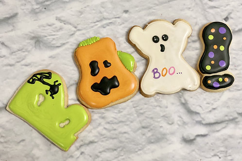 Halloween Cookie Set (4)