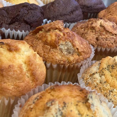 6 Muffins in a Box