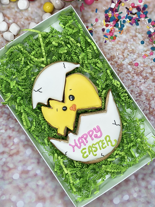 Giant Egg and Chick Cookie