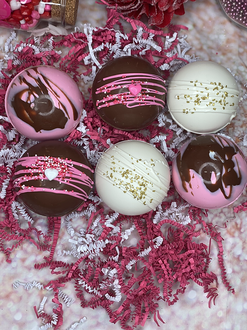 6 Pack of  Hot Cocoa Bombs