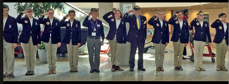 Student  Honor Guard Maine