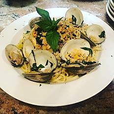 Linguini with clam sauce (red or White)