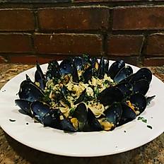 Mussels Bianco