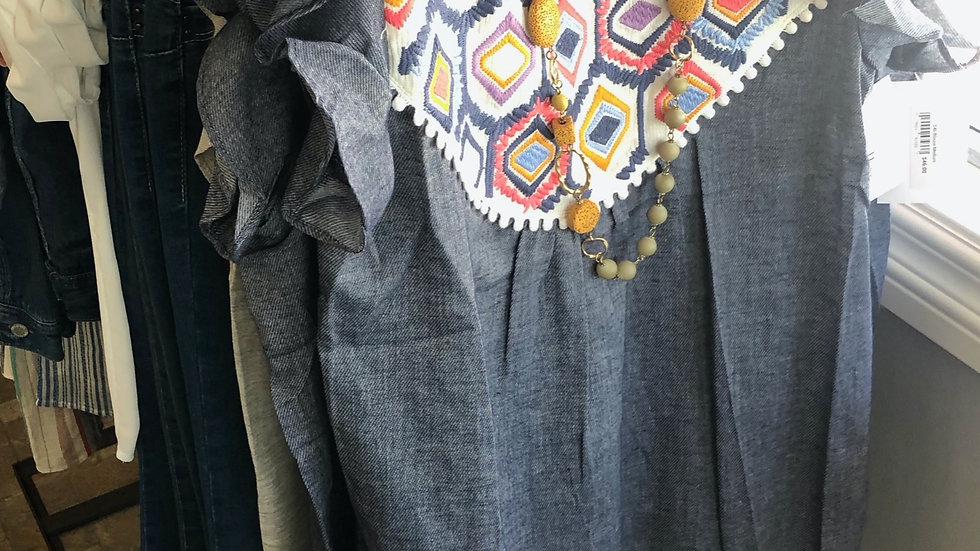 Multicolored Blouse