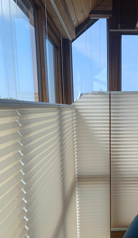 Pleated Shaped Blind