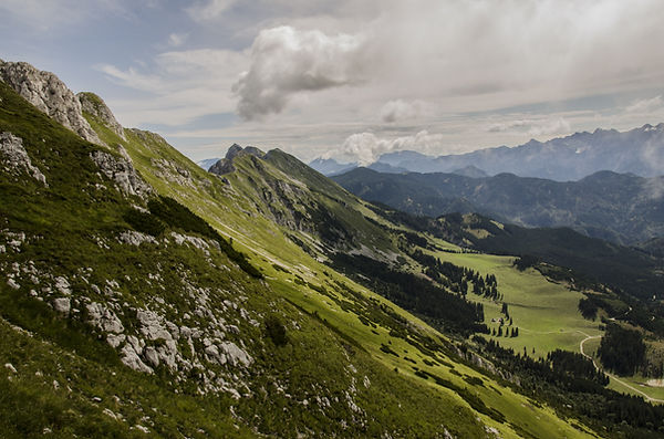 górzysty krajobraz