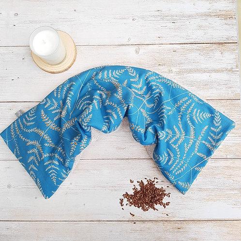 Bouillotte sèche déhoussable 53 cm coton Michael Miller et éponge