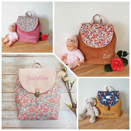 Créez votre sac à dos enfant