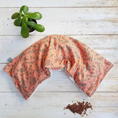 Bouillotte sèche déhoussable 53 cm housse coton Michael Miller et éponge
