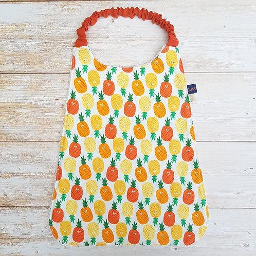 Serviette élastiquée personnalisable coton motifs ananas