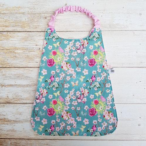 Serviette élastiquée personnalisable tissu coton motif japonais