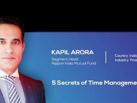 5 Secrets of Time Management