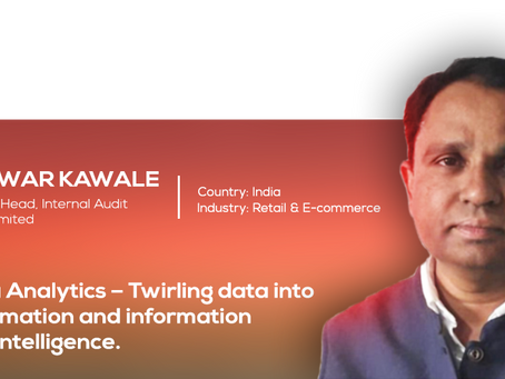 Data Analytics – Twirling data into information and information into intelligence