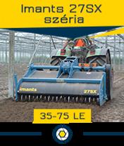 Imants 27 széria - 0,45 ha/óra - max. 75 le