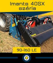 Imants 40 széria - 0,7 ha/óra - max. 160 le