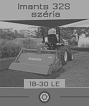 Imants 32 széria - 0,3 ha/óra - max. 35 le