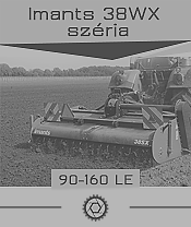 Imants 38WX széria - 1,2 ha/óra - max. 160 le