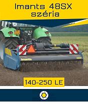 Imants 48SX széria - 2,4 ha/óra - max. 250 le