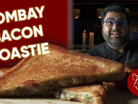 Bombay Bacon Toastie
