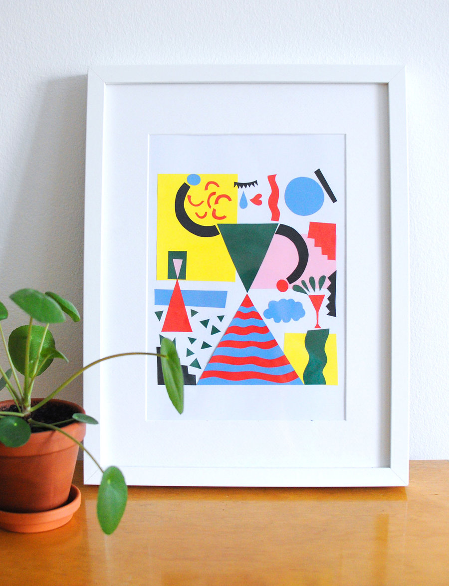 Illustration for Canandian T-shirt company Mr Dressup by graphic designer Johanna Bruun