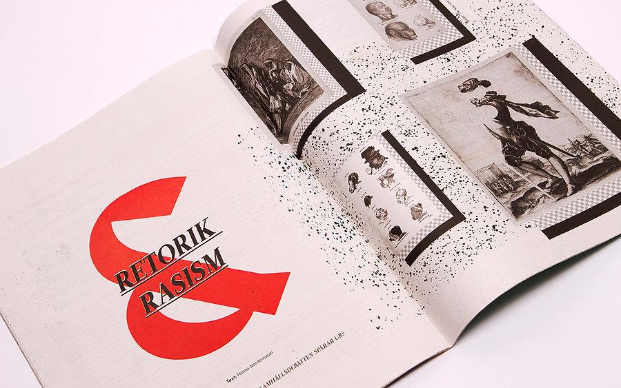 Student magazine redesign by graphic designer Johanna Bruun.