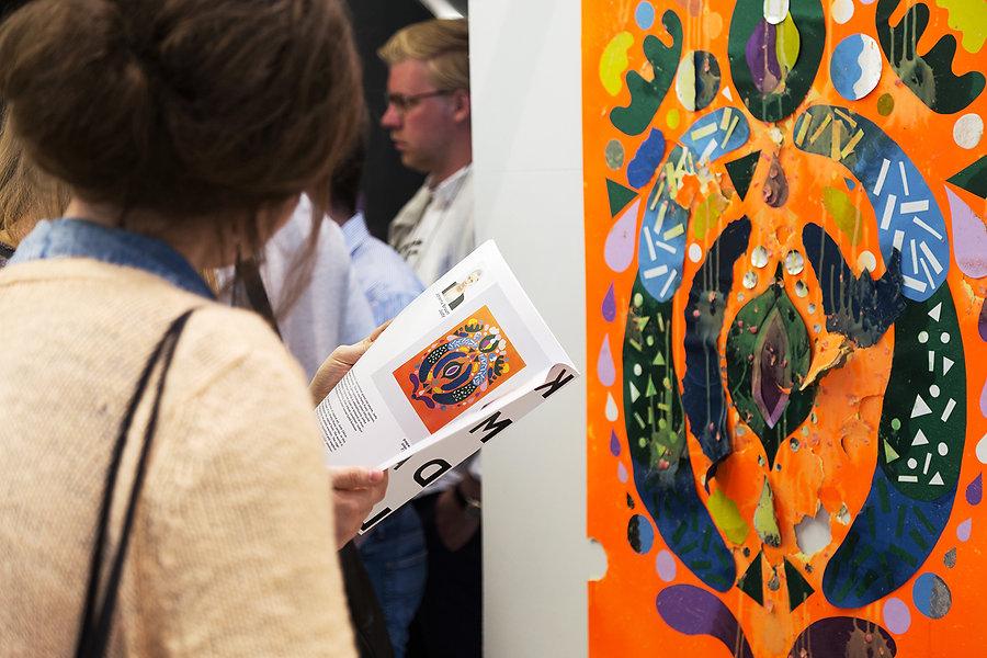 "Art work for exhibition ""Kill My darlings"" at Ham-kulma by graphic designer Johanna Bruun."