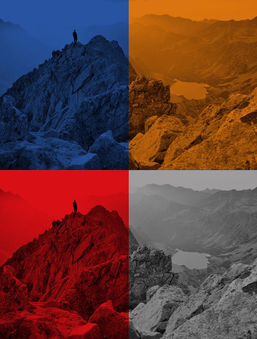 Visual identity and color scheme for company Korekto by Finnish graphic designer Johanna Bruun