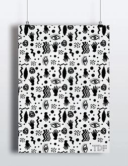 Poster design for Turku Design Festival 2016 by graphic designer Johanna Bruun.