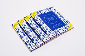 Illustrations and layout for Turku Design Festival 2016 festival fanzine by graphic designer Johanna Bruun