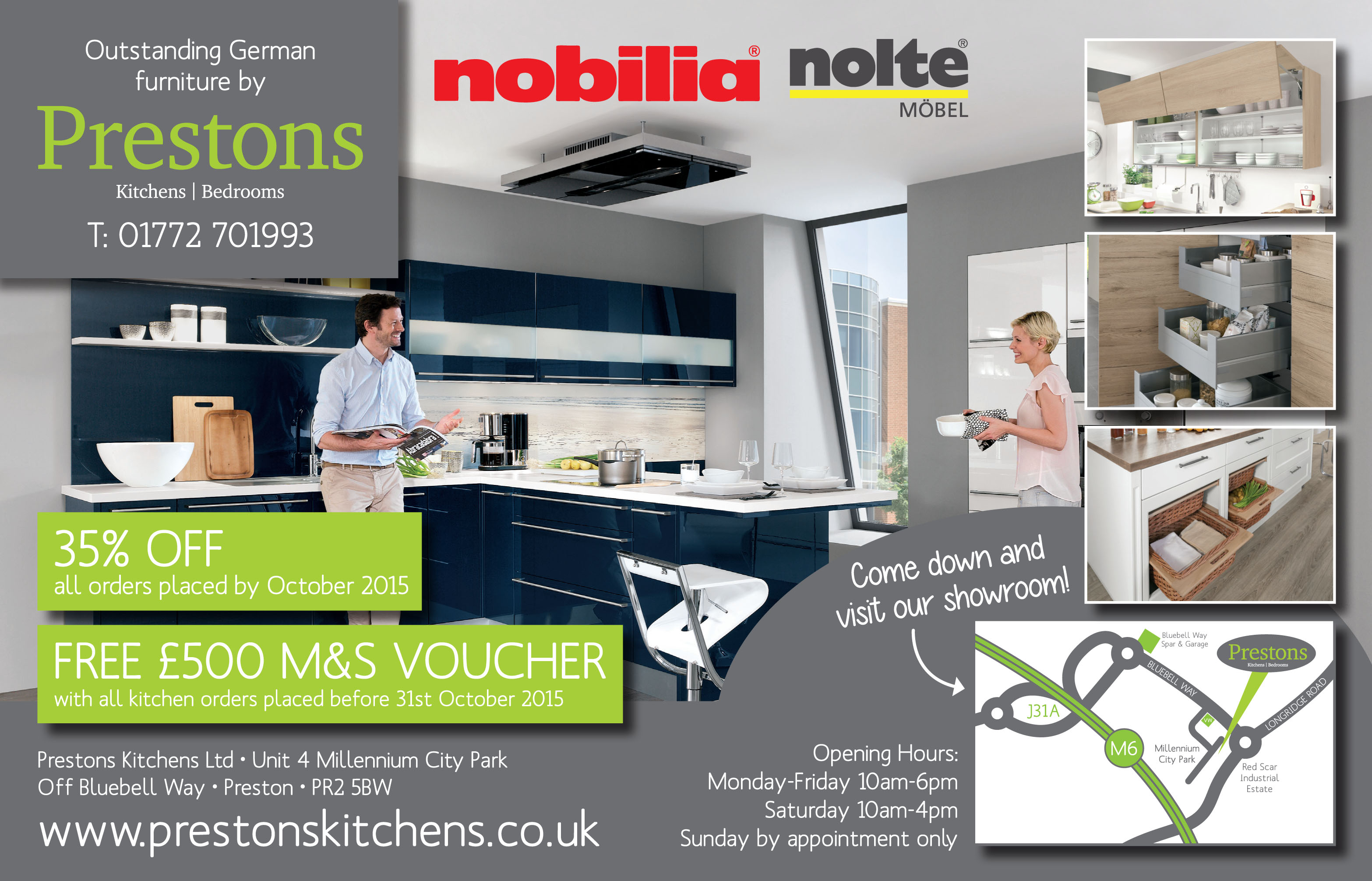 Prestons Kitchens